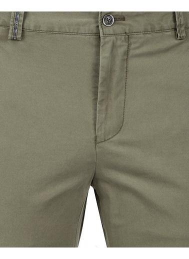 Damat Slim Fit Chino Pantolon Haki